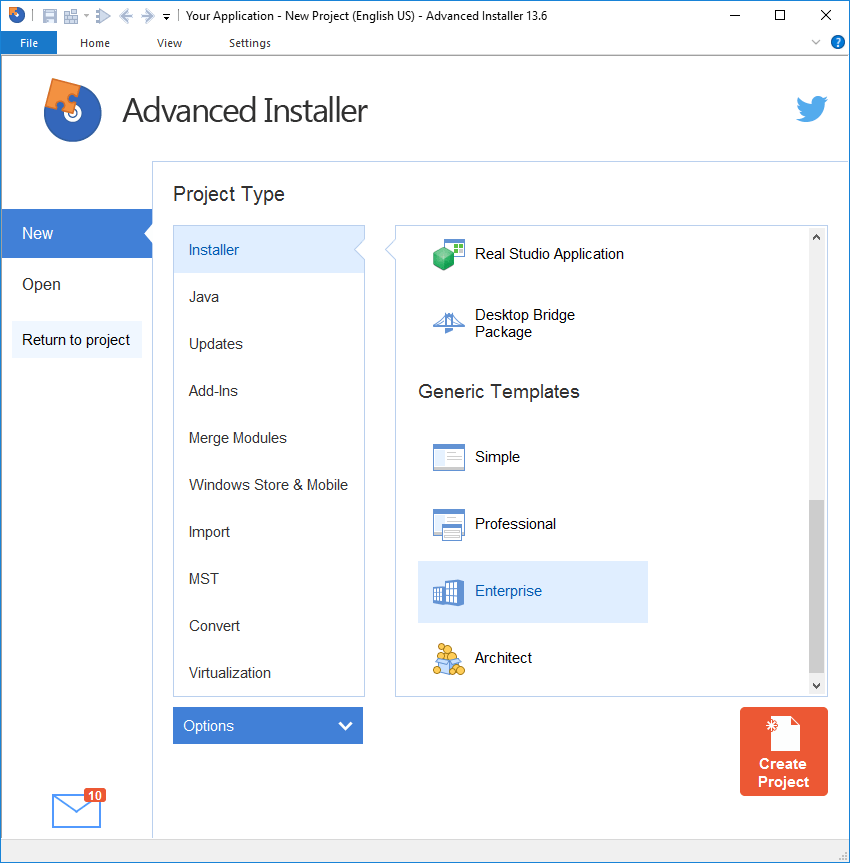 Advanced Installer Architect v9.8 [Multi]