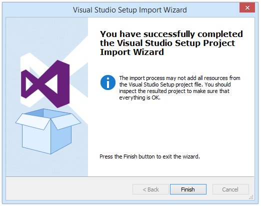 visual studio setup project 2007-6-22  you can write a simple program to test all the prerequisites before your application installed you can also use a setup project to deploy your application and run.