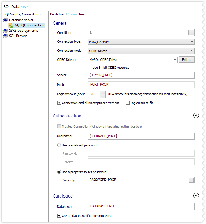 MySQL Server settings
