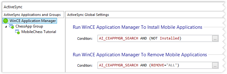 ActiveSync Global Settings